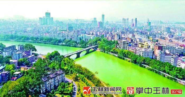 广西玉林兴业县规划图