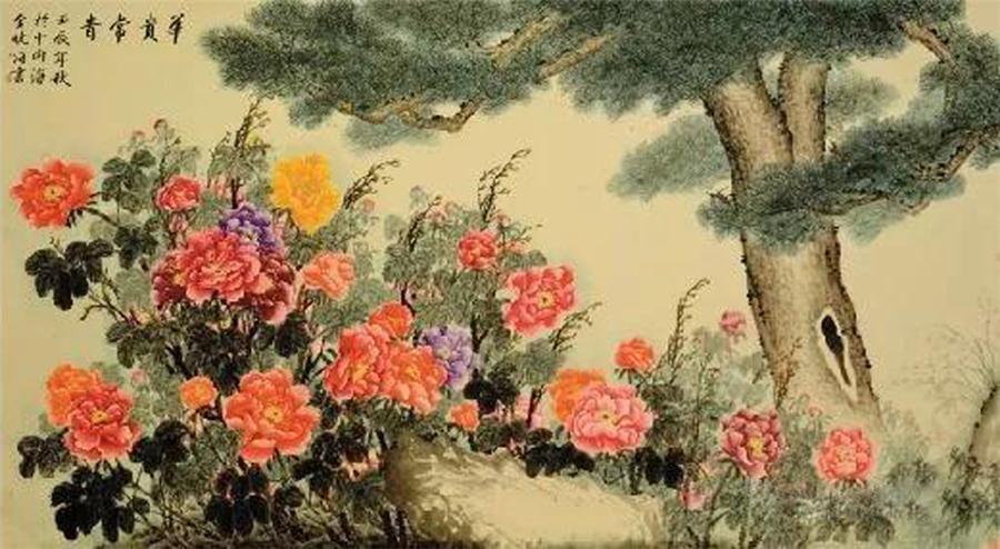 我国81位著名画家的珍贵画作,价值连城——牡丹王子金晓海排名第56位