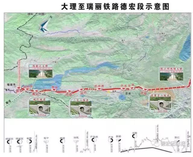 时速160km 投资169亿 芒市到临沧要建铁路图片
