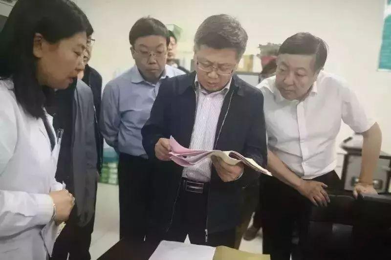省医保局到阜平县调研指导工作