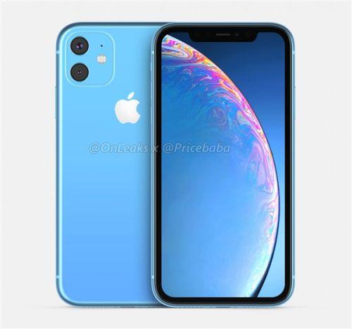 2019款iPhone XR高清渲染图曝光:果然方形双摄模组