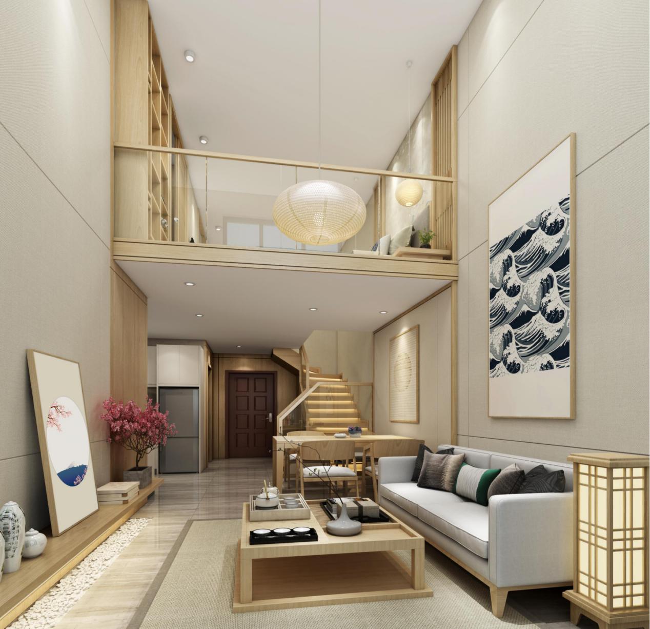 <b>约5.1米双钥匙全能loft,滨江首岸·领寓给你买一层得两层的机会</b>