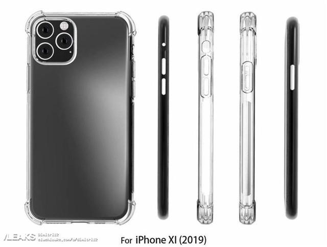 iPhone XI手机壳曝光 静音键有新变更