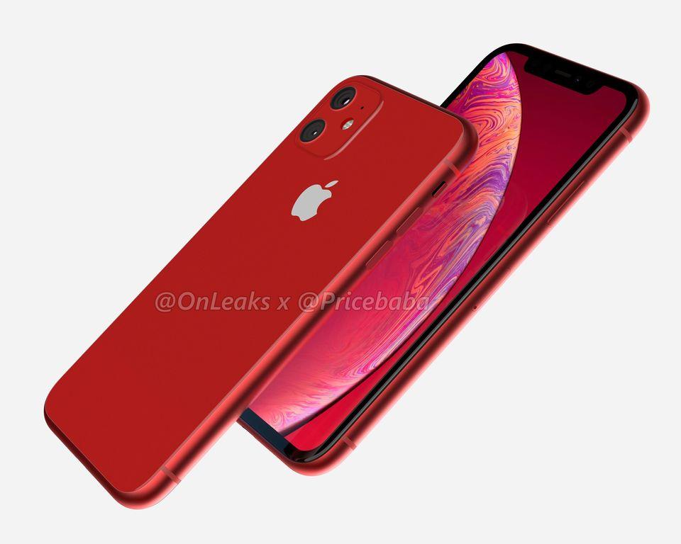 2019年新款iPhone XR渲染图:带浴霸双摄