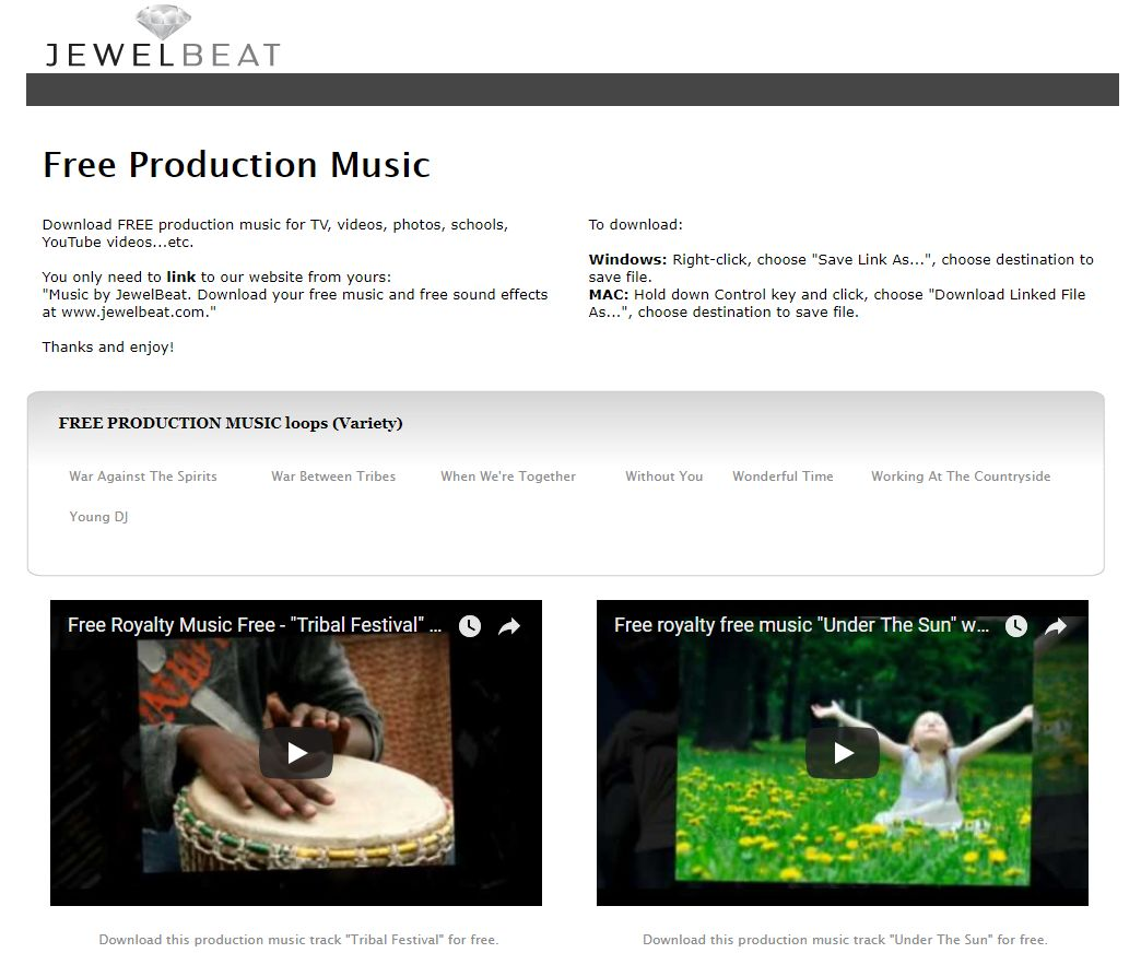 再来10个无版权音频网站,作为自媒体人士非常需要这样的资源!  无版权音乐 自媒体人士 背景音乐 电子相册 音乐素材 免费下载 第8张