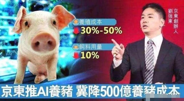 京东宣布进入生猪养殖业,为何互联网巨头都爱养猪?