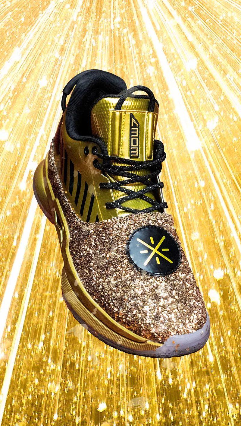 可能是今年「最华丽」球鞋!恐怕买了也没人舍得穿!