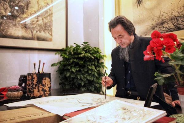 我国81位著名书画家的珍贵画作,价值连城,牡丹皇子金晓海其第56位