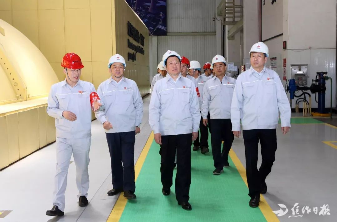 以政治建设为统领,绷紧安全生产弦!王祥喜莅焦调研电力企业生产经营情况时强调……