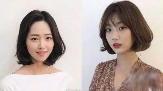 """2019潮流发型趋势,""""c字短发""""适不适合大脸女生!图片"""
