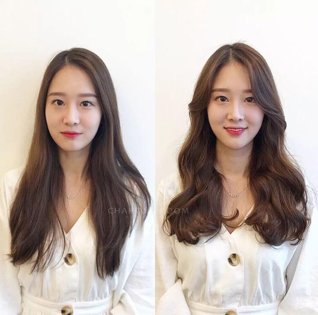 直发与卷发哪种更减龄 直发卷发对比图看完就知道 - 发型站