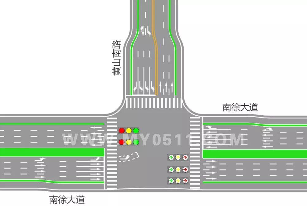 南徐片区部分路口交通调整,路过的朋友一定要注意了!