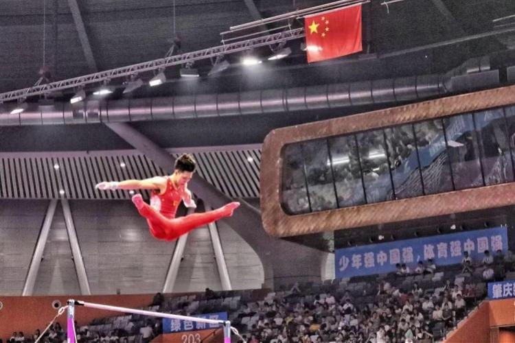 2019年全国体操锦标赛肇庆开赛,八一夺男子团体冠军广东摘铜