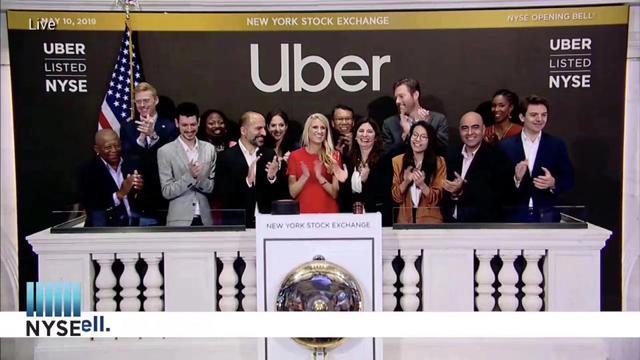 Uber纽交所上市:开盘就破发 市值跌破800亿美元
