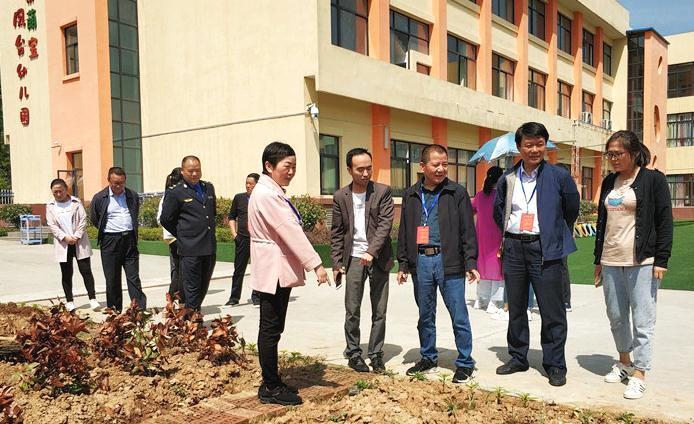 汉阴县人大领导视察凤台幼儿园莅临v小学英语小学年级下册教学计划三图片