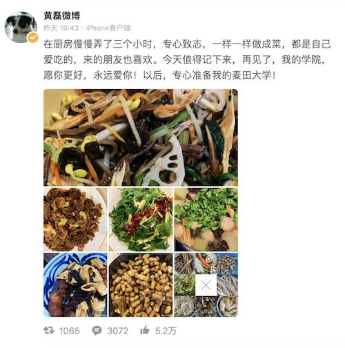 黄磊从北电辞职惹争议,网友嘲讽:反正也上不了几节课