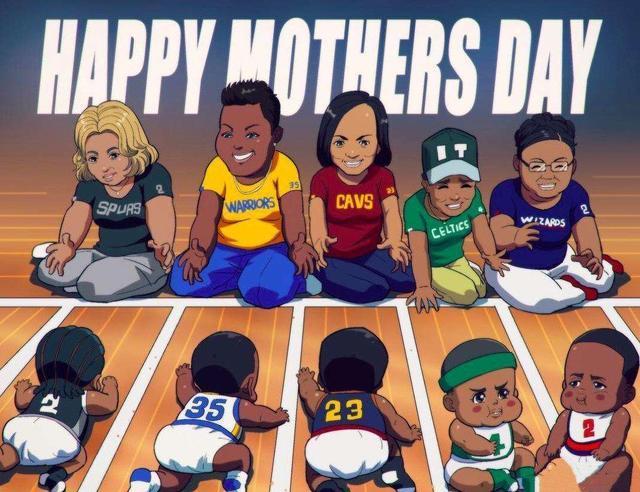 母亲节快乐!盘点NBA球星与母亲的动人故事:纸条故事与告母上庭