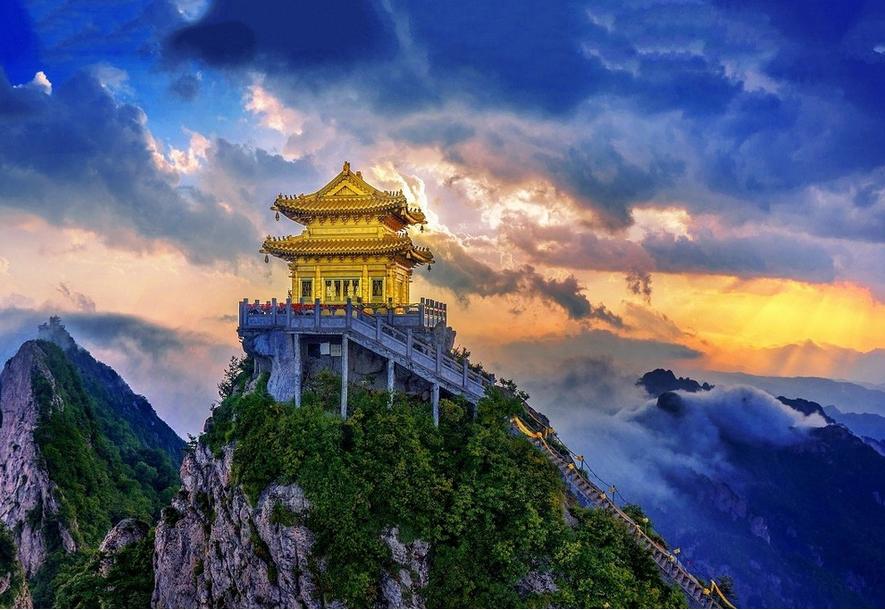 原创             堪比三山五岳的河南老君山,19亿年前的大陆造山运动让它举世无双