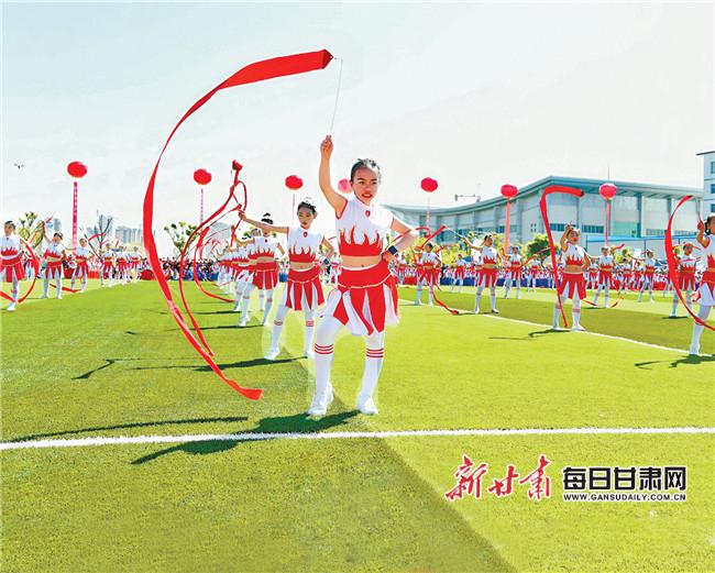 2019年甘肃省青少年校园足球夏令营榆中开营