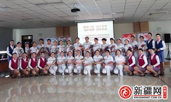 南航新疆举办主题活动与白衣天使共庆国际护士节