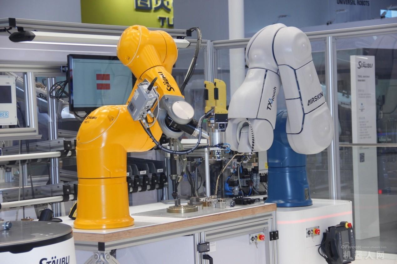工业机器人主要的几大应用场景