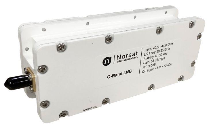 海能达全资子公司Norsat发布全球首款Q-BAND LNB
