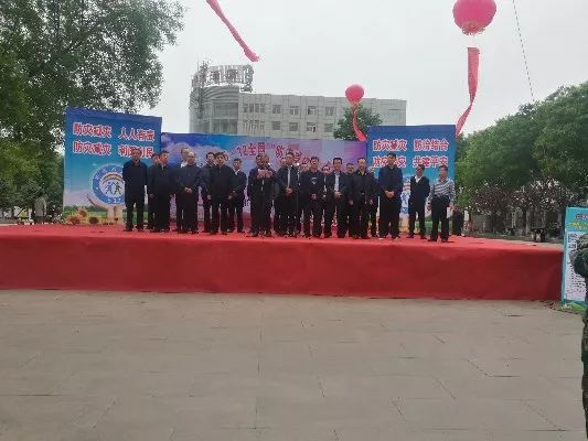 忻州市生态环境局扎实开展防灾减灾日宣传活动