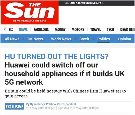 都怪华为,英国人智商受到最严重威胁!