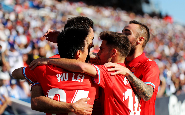 足球 西甲:西班牙人胜莱加内斯