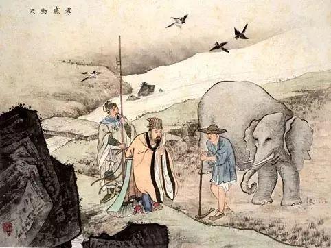 中国《二十四孝图》,图文并茂,孝感动天!