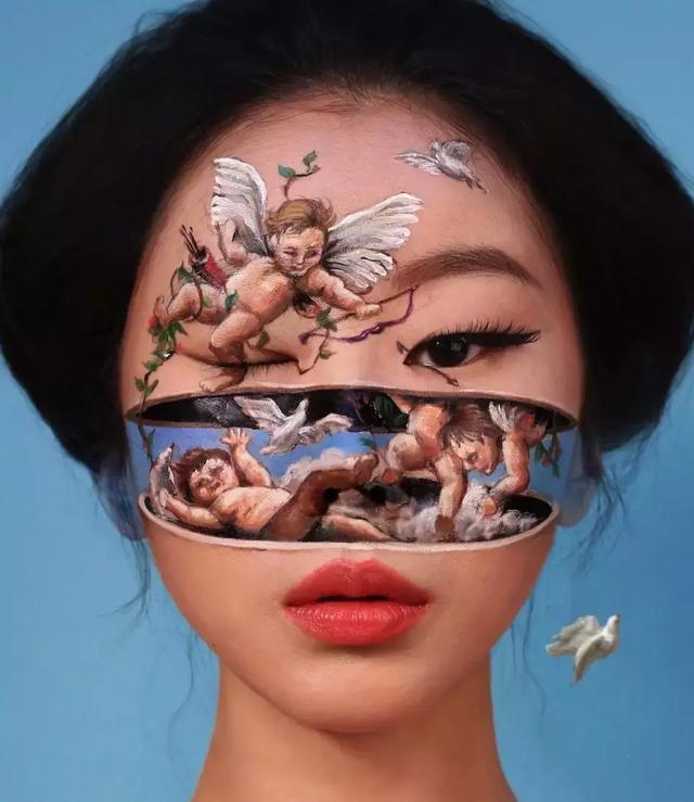 原创             见过整容式化妆的,毁容式化妆的见过吗?