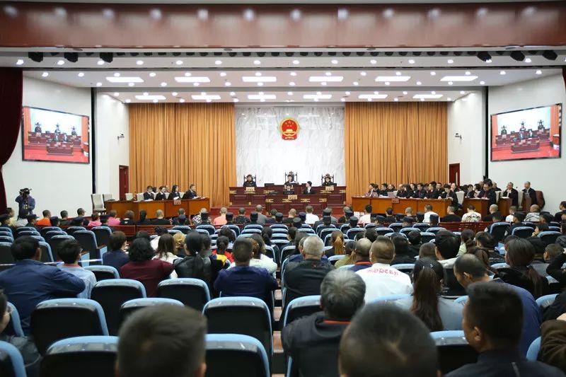 <b>今日,葛广平等36人黑社会性质组织等案在呼和浩特开庭审理…</b>