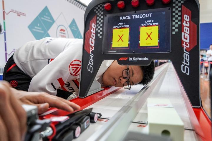 """3支中国车队晋级""""F1在学校""""挑战赛全球总决赛"""