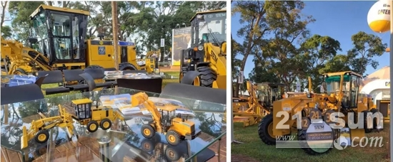 山工机械品牌亮相2019年巴西国际农业展览会