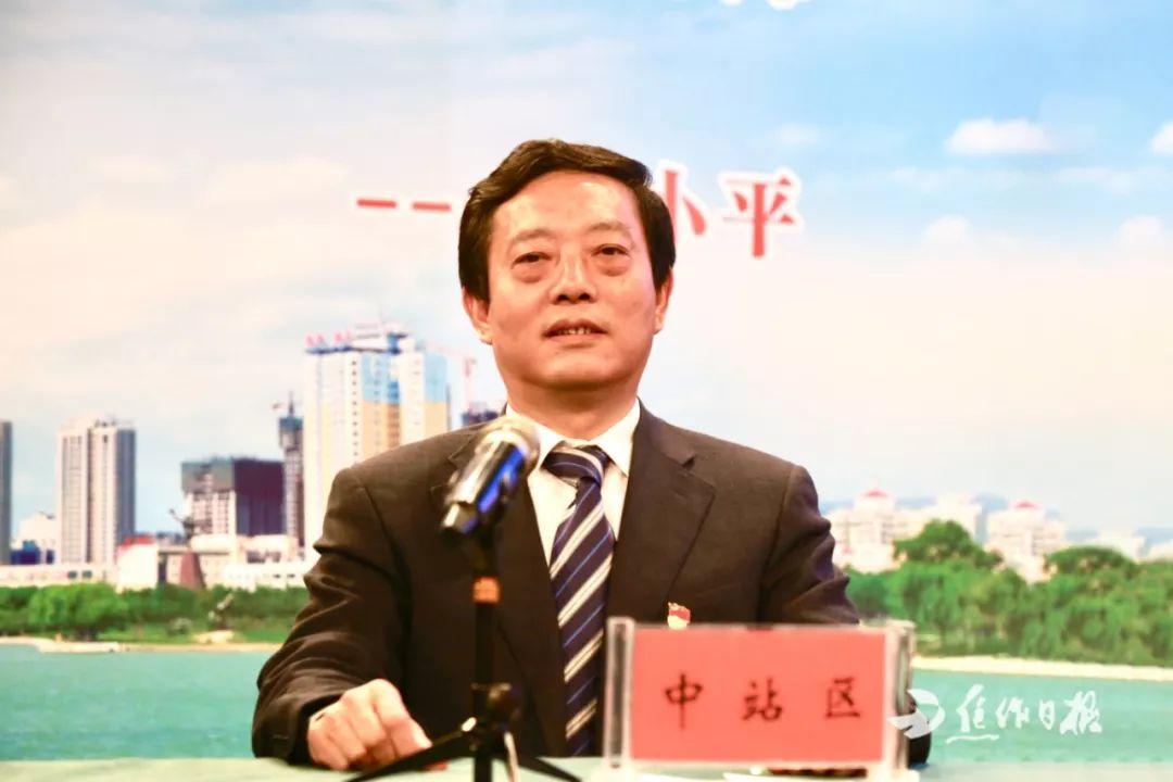 """中站区委书记董红倜:""""三区四基地""""领航高质量发展走前列"""