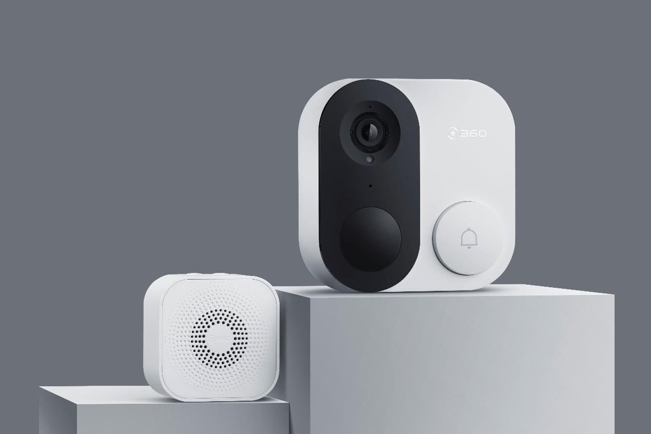 360IoT再添安全新成员 可视门铃1C为家门把关