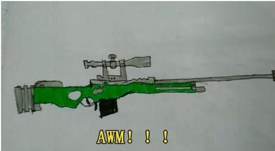 小学生在作业本上画吃鸡枪械 班主任看完气吐血,美术老师却笑了