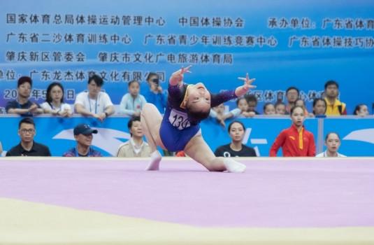 原创            14岁进国家队21岁退役,复出后再摘自由操金牌,她已是23岁