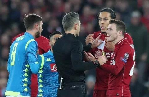 欧足联公布欧冠决赛主裁 利物浦遇上他5战竟输4场