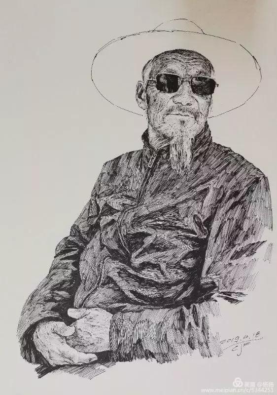素语 临夏首届钢笔画艺术展开展