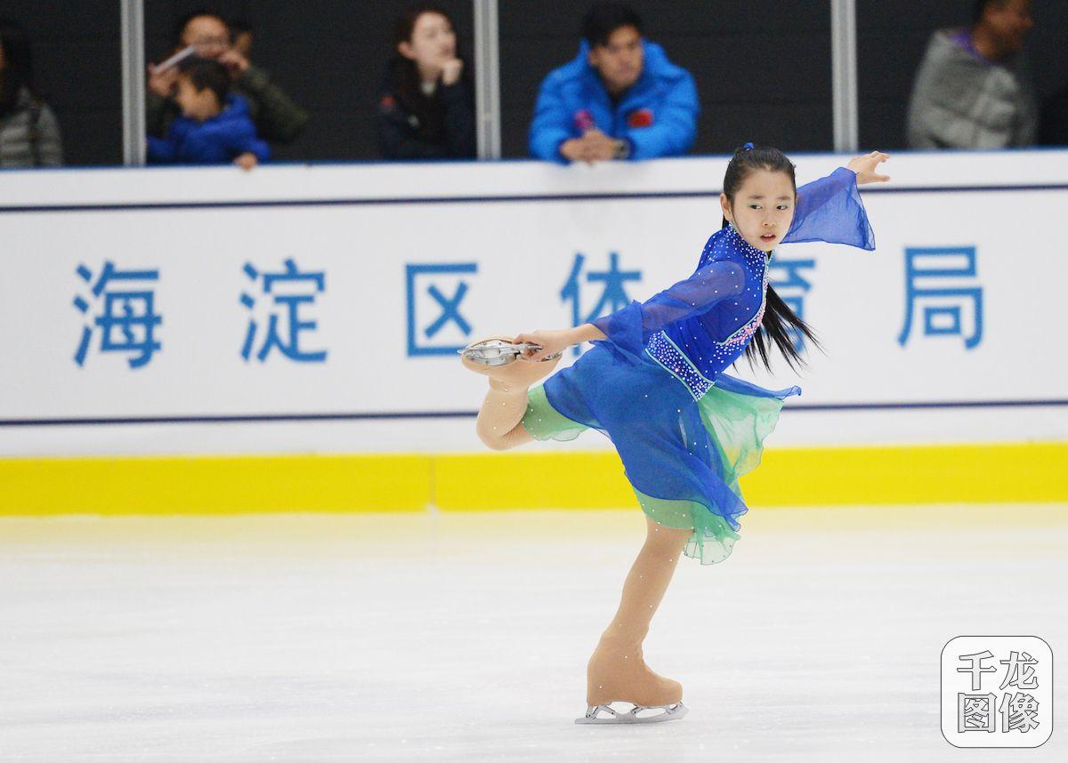 北京海淀首次举办青少年花样滑冰选拔赛