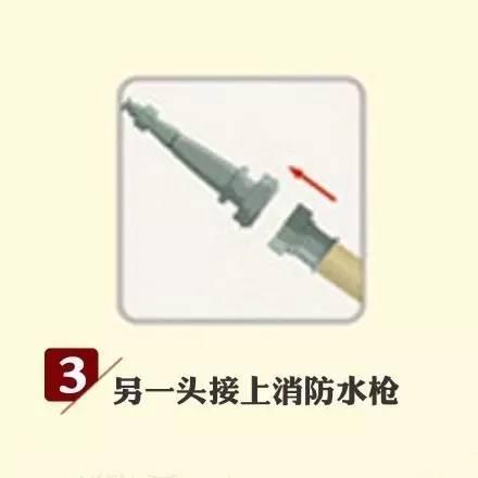 学会消防栓和灭火器的使用方法,下个大片主角就是你