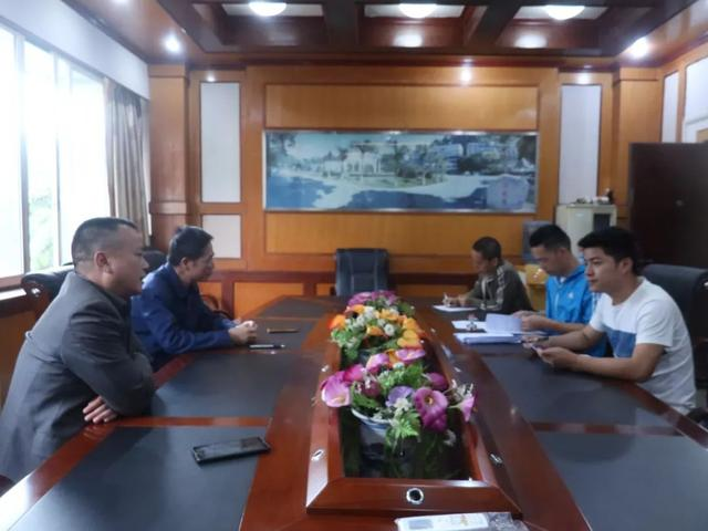 桂东公路管理局签订普通国道交通标志调整工程施工合同