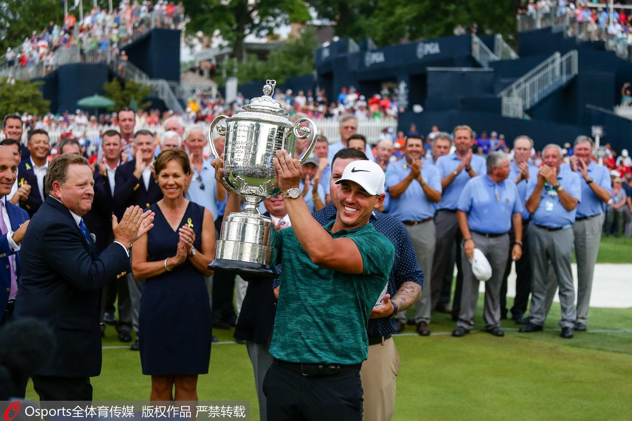 一文了解高尔夫大满贯PGA锦标赛,有人连续4次夺冠