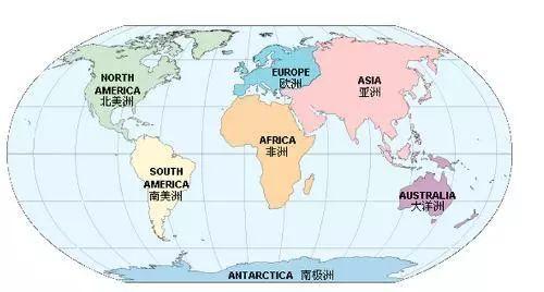 画出七大洲四大洋 七大洲四大洋简笔画 七大洲四大洋简图 七大洲