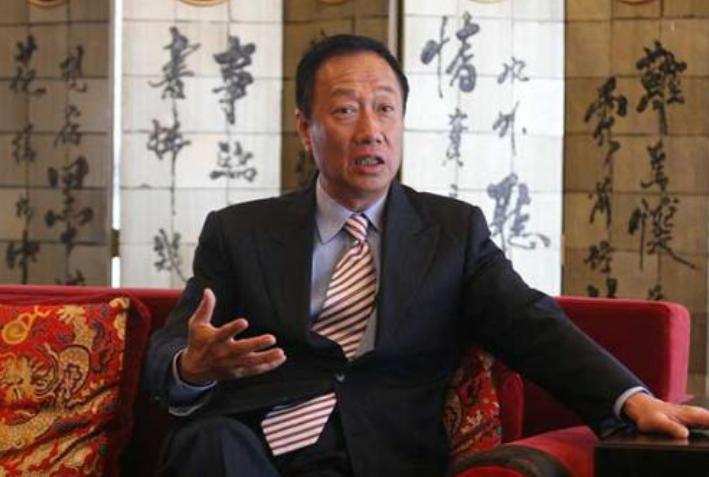 郭台铭买进鸿海股价达38310张 持股达9.62%