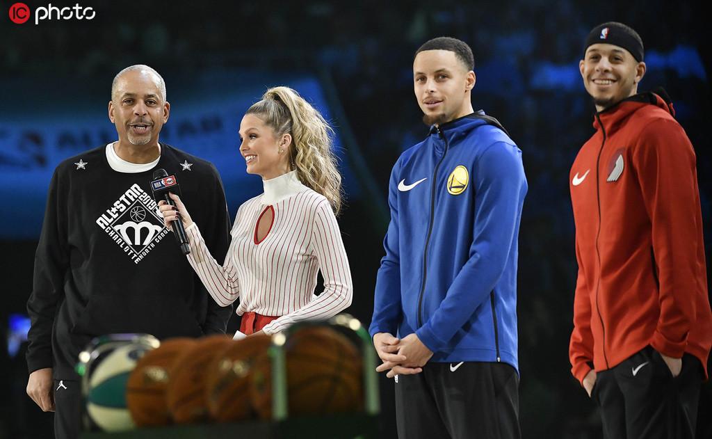 科尔:库里家族不可思议 他们是NBA中的皇室家族