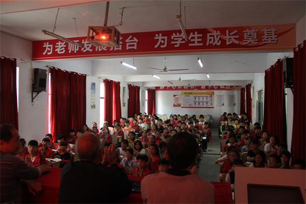 """湖北黄集镇开展""""爱我中华讲好中国故事""""主题教育活动"""