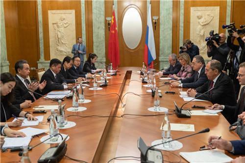 关键时刻,中俄外长会面释放强烈信号