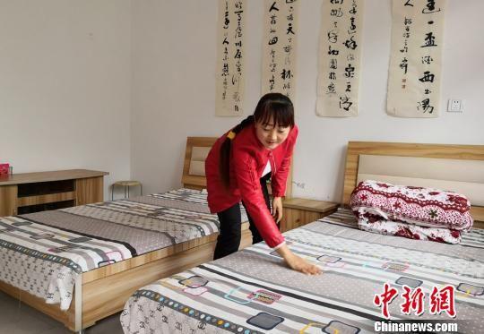 漳县灾后重建农妇办农家乐:生活从拮据到有滋有味